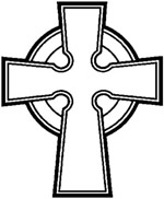 Catholic Celtic Cross Clip Art