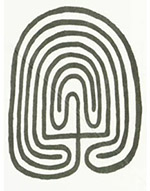 Hopi Maze or Mother Earth Symbol