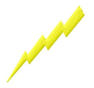 The lightning bolt