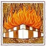 SYMBOLES HINDOUS Altar-fire