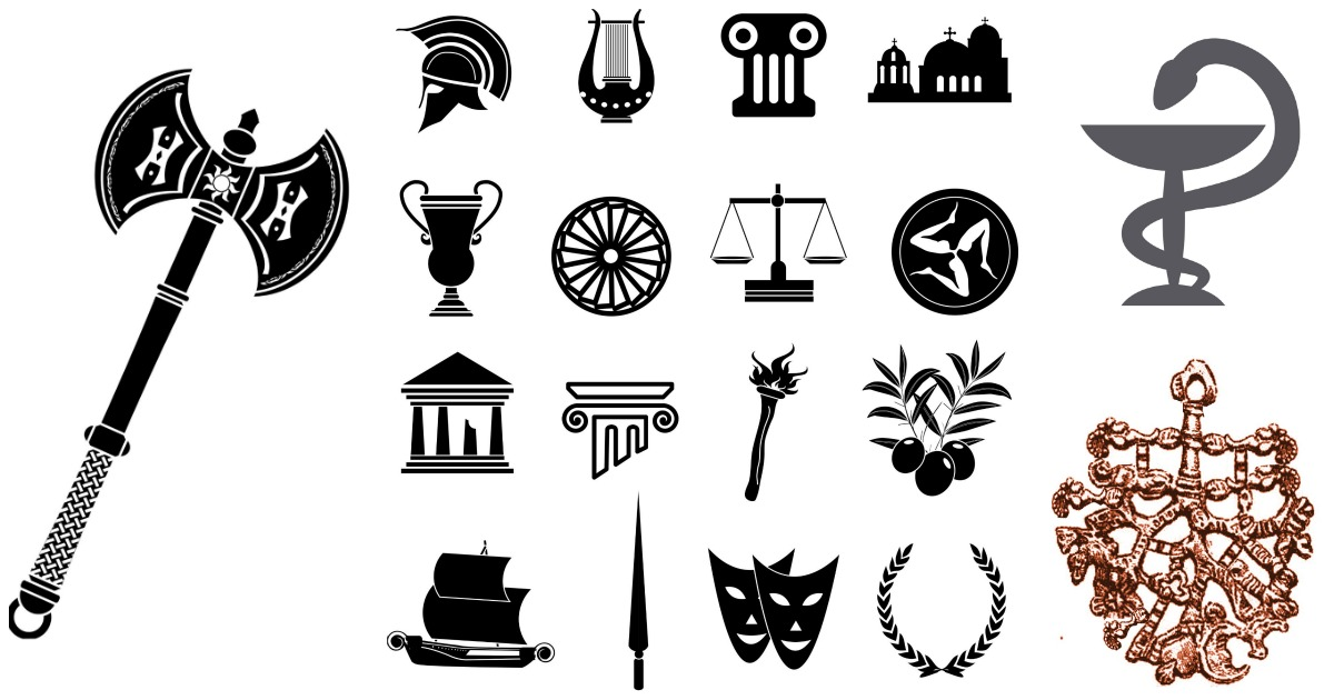 List of Synonyms and Antonyms of the Word: roman symbols