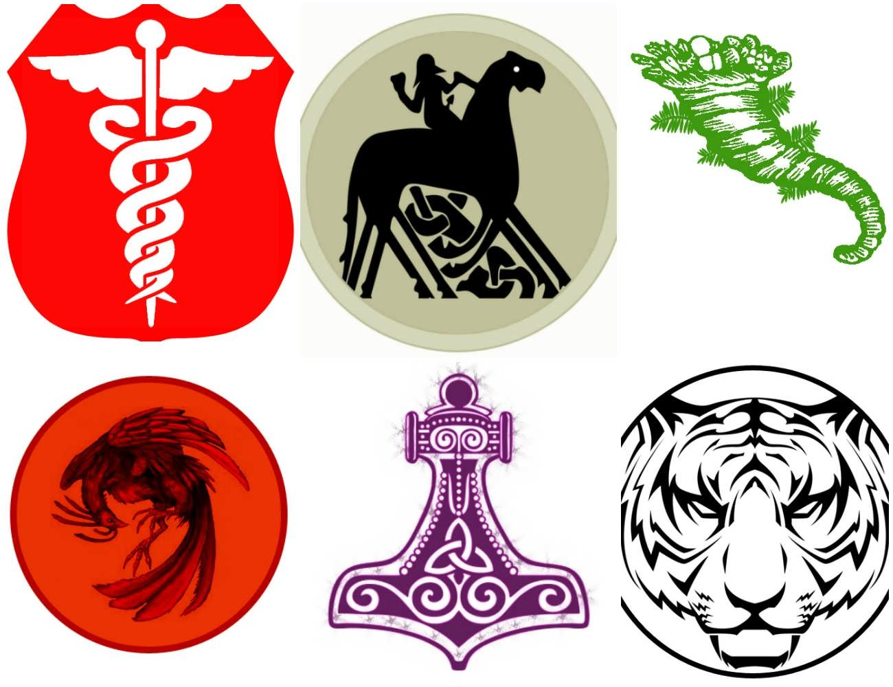 Mythology Symbols