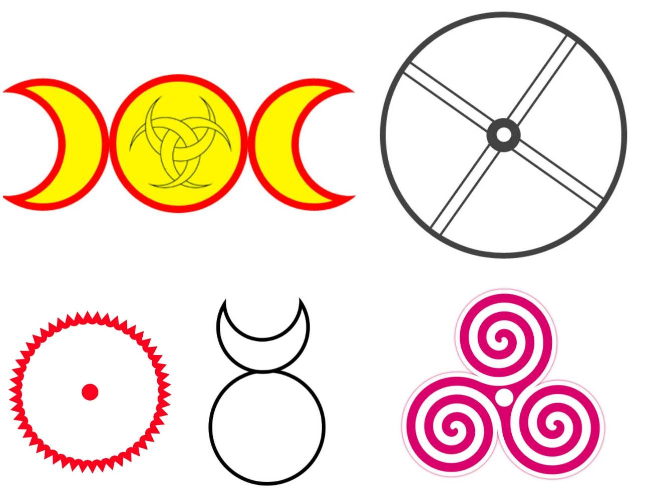Solar lunar symbols biocorpaavc Image collections