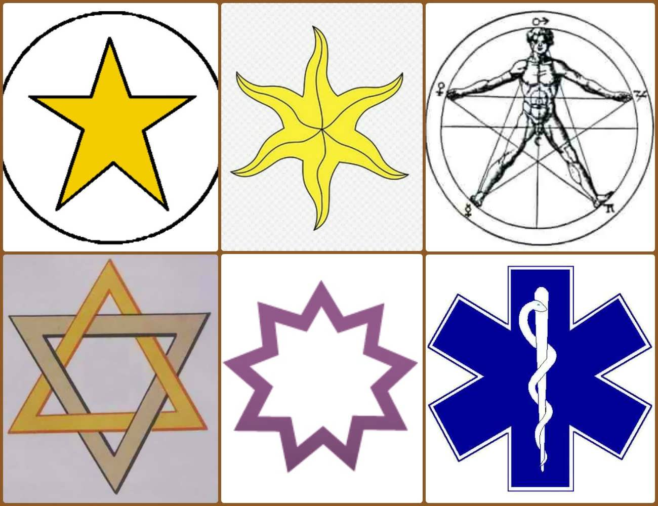 Star symbols biocorpaavc Image collections
