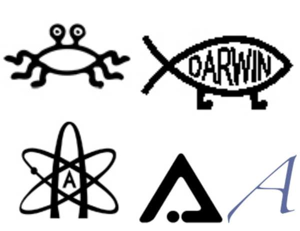 Atheist Symbols and their meanings