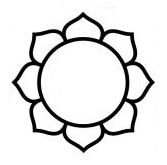 Hindu Lotus Tattoo Symbol