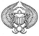 Egyptian Scarab Tattoo Symbol