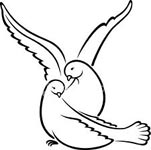 Doves And Pigeons Mate For Life Therefore Were Used As A Symbol Of Fidelity