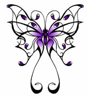 butterfly tattoo symbol
