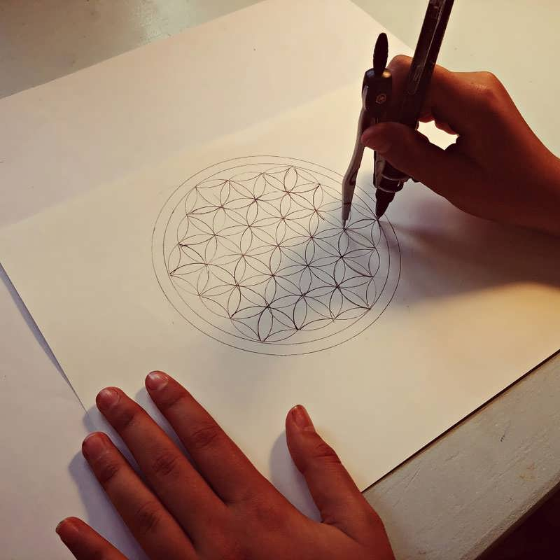 Flower of Life evolution