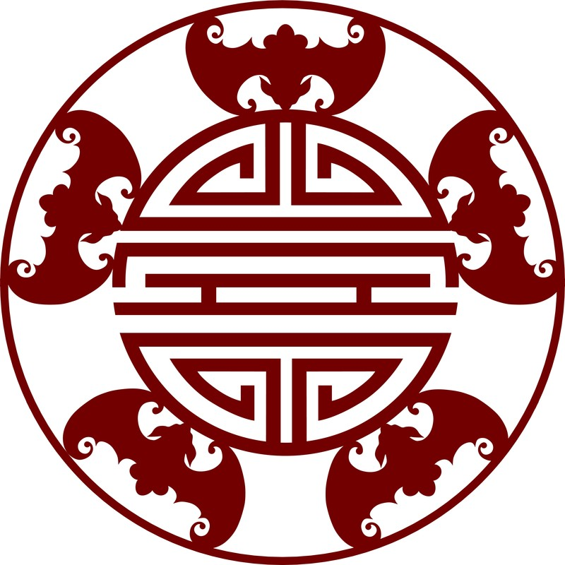 Chinese Five Blessings symbol